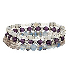 Butterfly by Matthew Williamson - Designer Bead stretch bracelet pack
