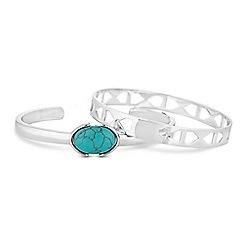 Butterfly by Matthew Williamson - Designer geometric bracelet set