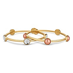 Butterfly by Matthew Williamson - Designer circle bangle set