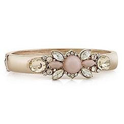 Butterfly by Matthew Williamson - Designer pink tonal crystal bracelet