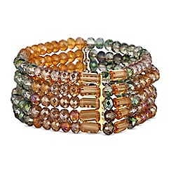Butterfly by Matthew Williamson - Designer multi crystal bracelet