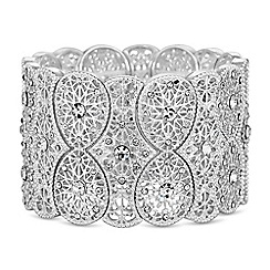 Butterfly by Matthew Williamson - Designer silver filigree bracelet