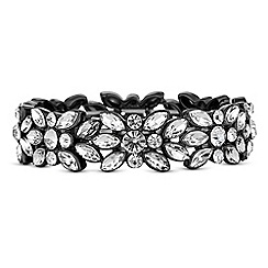 Butterfly by Matthew Williamson - Designer crystal cluster bracelet