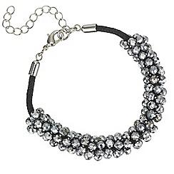 Butterfly by Matthew Williamson - Designer bead cluster bracelet