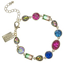 Butterfly by Matthew Williamson - Multi colour crystal bracelet
