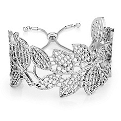 Butterfly by Matthew Williamson - Filigree leaf cuff