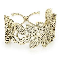 Butterfly by Matthew Williamson - Filigree leaf cuff