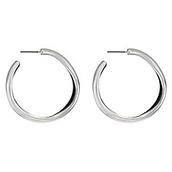 Principles by Ben de Lisi - Designer organic hoop earrings
