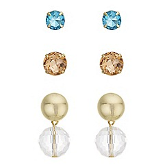 Principles by Ben de Lisi - Designer multi earrings set