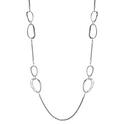 Principles by Ben de Lisi - Designer organic oval rope necklace