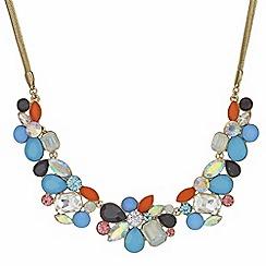 Principles by Ben de Lisi - Designer crystal cluster necklace