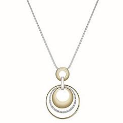 Principles by Ben de Lisi - Designer circle drop necklace