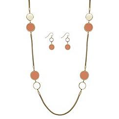 Principles by Ben de Lisi - Designer disc link jewellery set
