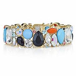 Principles by Ben de Lisi - Designer crystal cluster bracelet