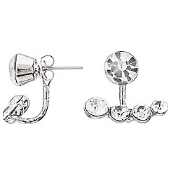 Red Herring - Graduated crystal swing earring