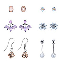 Red Herring - Pretty crystal earring pack