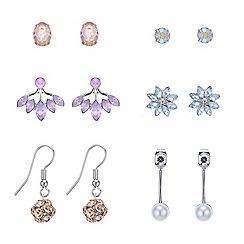 Red Herring - Pretty crystal earring pack
