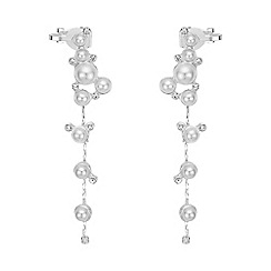 Red Herring - Pearl ear cuff set