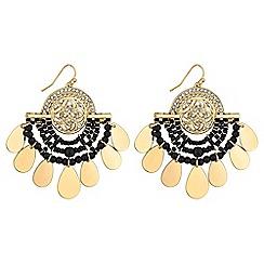 Red Herring - Beaded jangle drop earrings