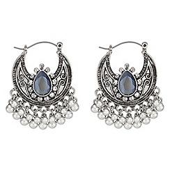 Red Herring - Crystal rodeo earrings