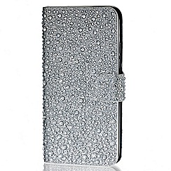 Red Herring - Silver crystal wrap over iPhone 6 case