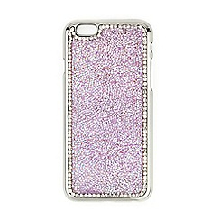Red Herring - Pink crystal embellished iPhone 6 case