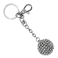 Red Herring - Disco crystal ball keyring