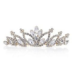 Red Herring - Diamante crystal hair crown