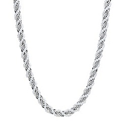 Red Herring - Pearl twist rope necklace