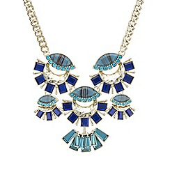 Red Herring - Fan statement necklace