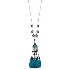 Red Herring - Rodeo tassel necklace