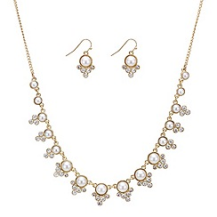 Red Herring - Online exclusive pearl and crystal bubble jewellery set