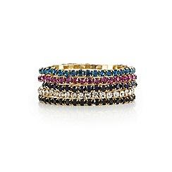 Red Herring - Multi colour bracelet set