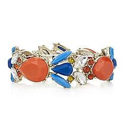 Red Herring - Multi colour stretch bracelet