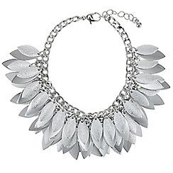 Red Herring - Silver shaker droplet bracelet