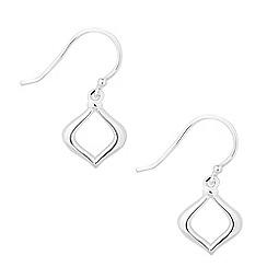 Simply Silver - Sterling silver lantern style drop earring