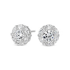Simply Silver - Sterling silver clara stud earring