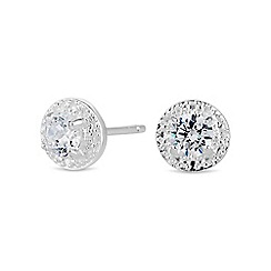 Simply Silver - Sterling silver mini clara earring