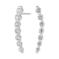 Simply Silver - Sterling silver fine ear climber