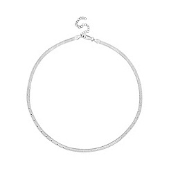 Simply Silver - Sterling silver star chain necklace