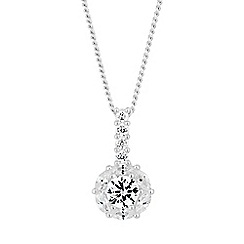 Simply Silver - Sterling silver clara necklace
