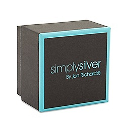 Simply Silver - Black and aqua small gift box