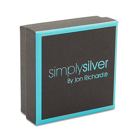 Simply Silver - Black and aqua medium gift box