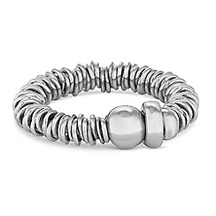 Simply Silver - Sterling silver multi ring stretch ring