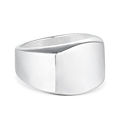 Simply Silver - Sterling silver geometric ring