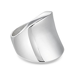 Simply Silver - Statement organic sterling silver ring