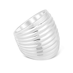 Simply Silver - Statement sterling silver tubular ring