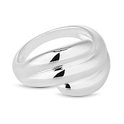 Simply Silver - Sterling silver polished wave ring