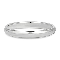 Simply Silver - Sterling silver band ring