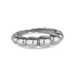 Simply Silver - Sterling silver textured ring